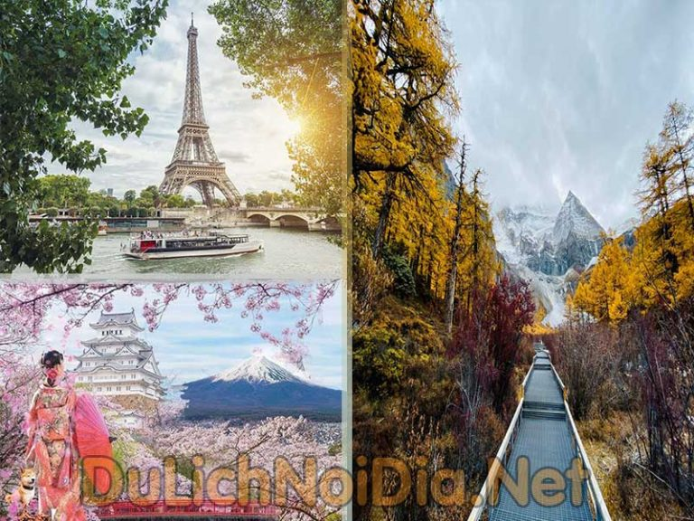 Kế hoạch du lịch nước ngoài thì 3 nước bạn nghĩ đến là gì?