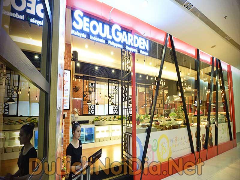 nhà hàng Seoul Garden