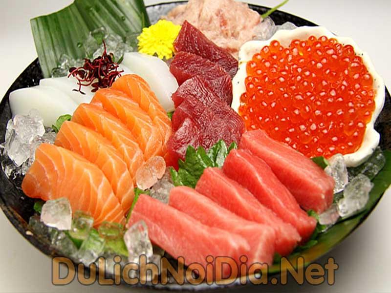 các loại Sashimi đặt biệt và độc đáo