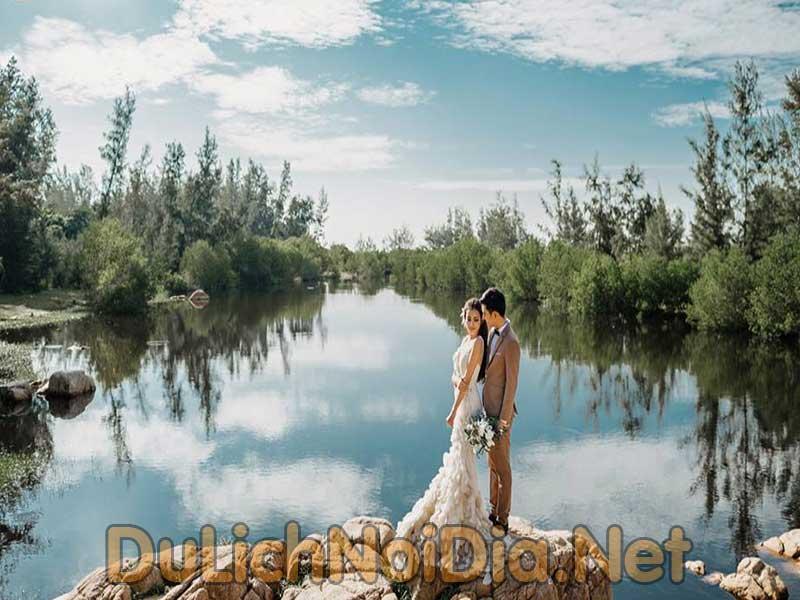 chuoj ảnh cưới tại Hồ Cốc Vũng Tàu