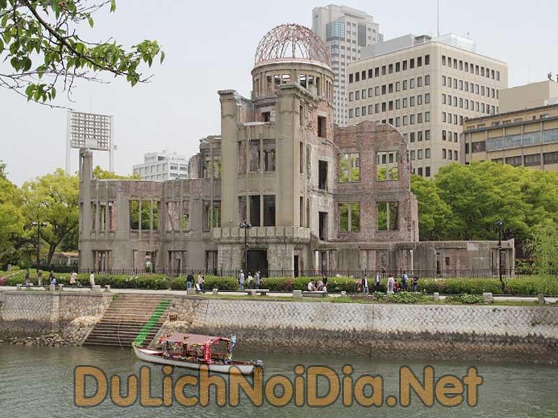 Khu tưởng niệm hòa bình Hiroshima-Genbaku Dome