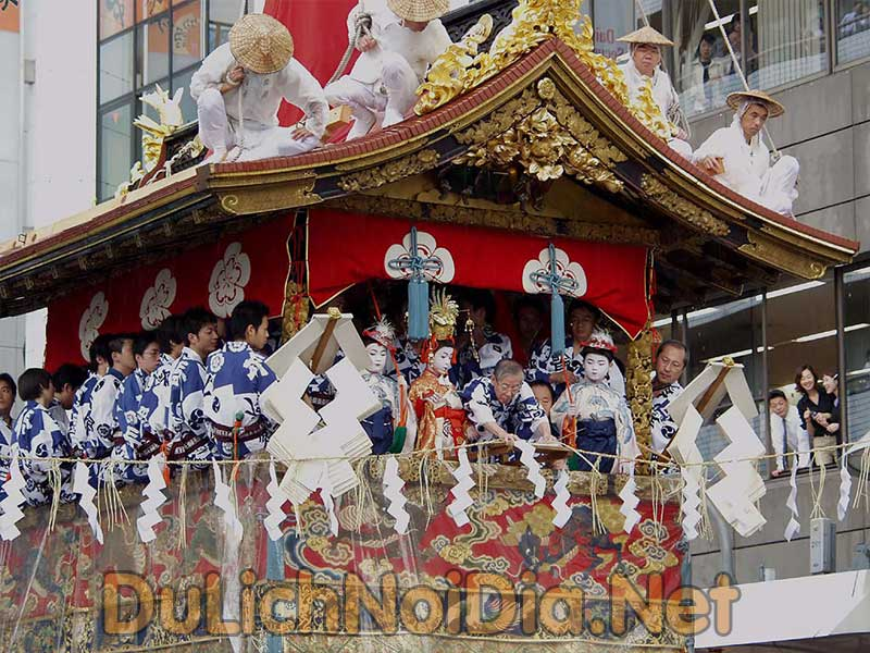 lễ hội Gion Tại Nhật Bản