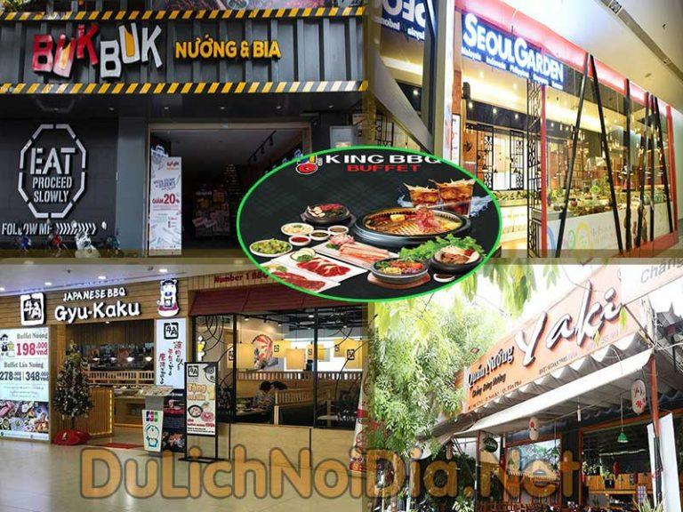 Top 5 nhà hàng buffet thịt nướng ngon nhất tại TP Hồ Chí Minh